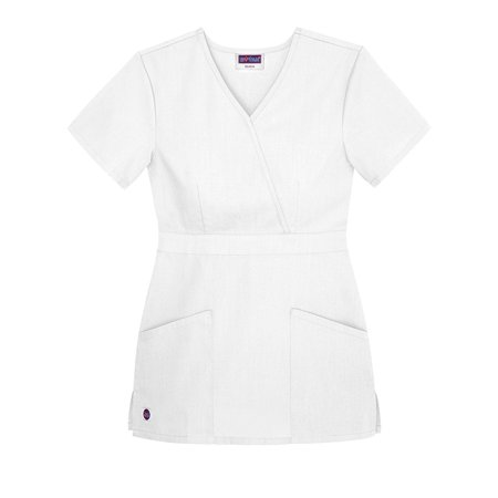 - Sivvan Womens Scrubs Mock Wrap Top (Available in 12 Colors)