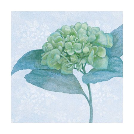 Blue Hydrangea II Print Wall Art By Beth Grove