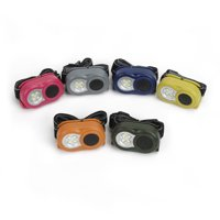 Ozark Trail Mini 4 LED Headlamp, 20 Lumens, 6 Colors, Model 6104