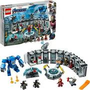 LEGO Marvel Avengers Iron Man Hall of Armor 76125 Building Kit - Tony Stark Action Figure