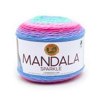 Lion Brand Mandala Sparkle Draco Fashion Cake Yarn
