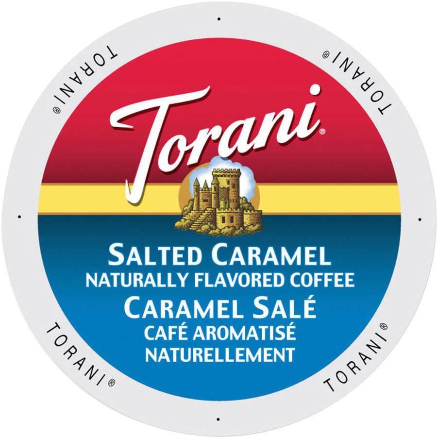 Torani Salted Caramel Coffee K-Cups, 24 count