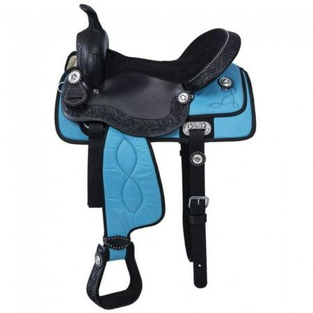 Tough-1 Saddle Krypton Pro Youth Durable Competitive Horse Tack KS141