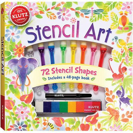 Stencil Art Book Kit