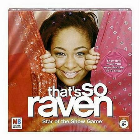 Milton Bradley That's So Raven Star of the Show Game Girls Fun Milton Bradley Toy
