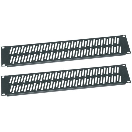 Essex by Middle Atlantic VPANEL-2U-2PK Flanged Vent Rack Panel Pair