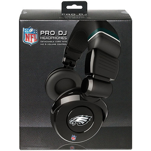 Ihip Pro Dj Headphones With Microphone - Philadelphia Eagles Philadelphia Eagles HPFBPHIDJPRO