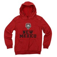 NCAA Youth New Mexico Lobos Performance Hoodie, Red