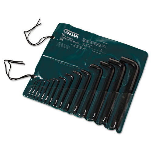 15-Piece Metric Long-Arm Hex Key Set