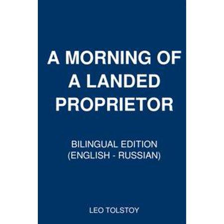 A Morning of a Landed Proprietor - eBook