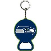 Seattle Seahawks Primary Logo Bottle Opener Keychain - No Size