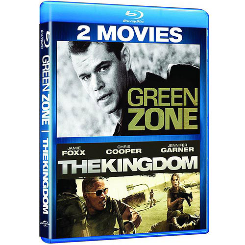 Green Zone / The Kingdom (Blu-ray) (With INSTAWATCH)