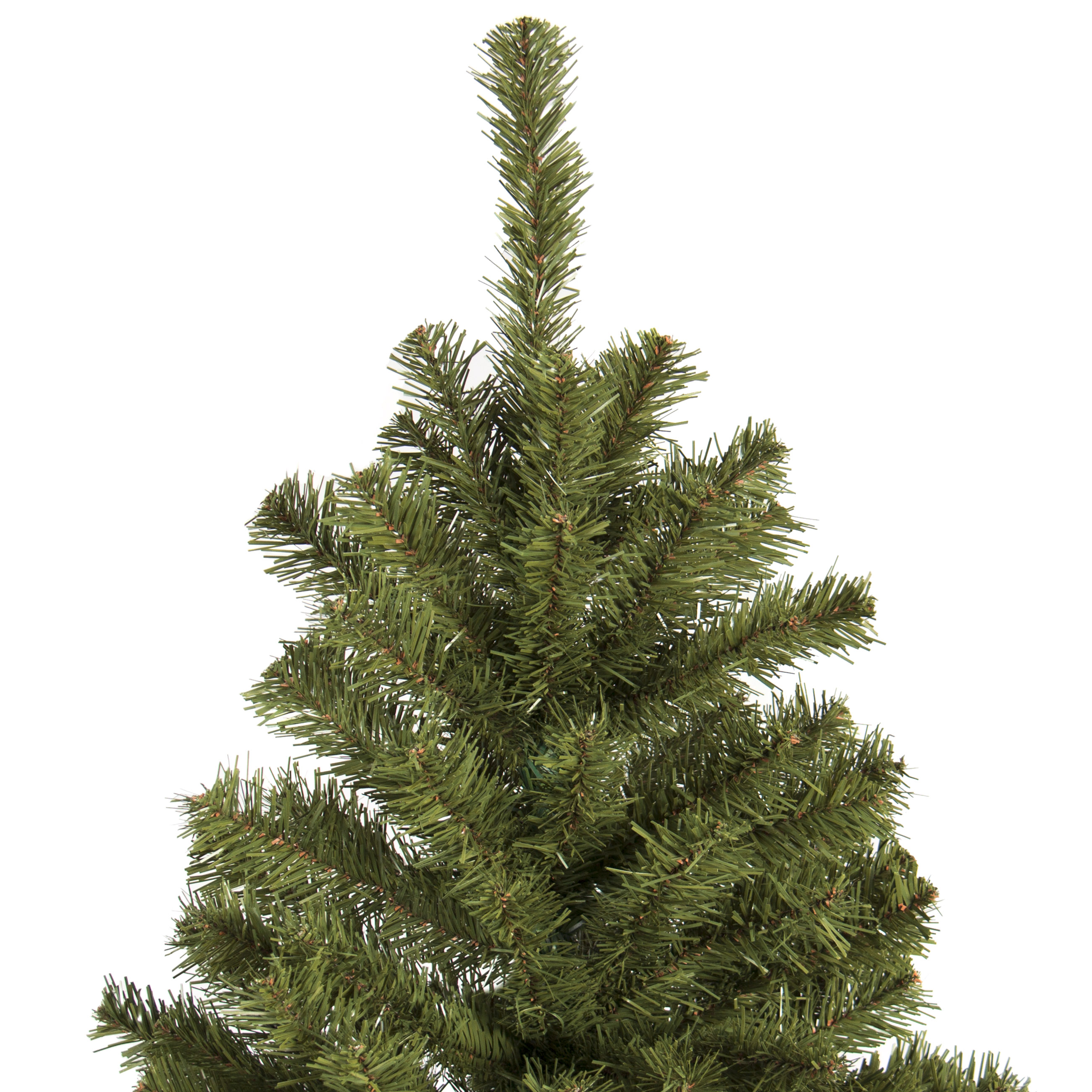 Best Choice Products 7.5u0027 Premium Spruce Hinged Artificial Christmas Tree  W/ Stand   Walmart.com