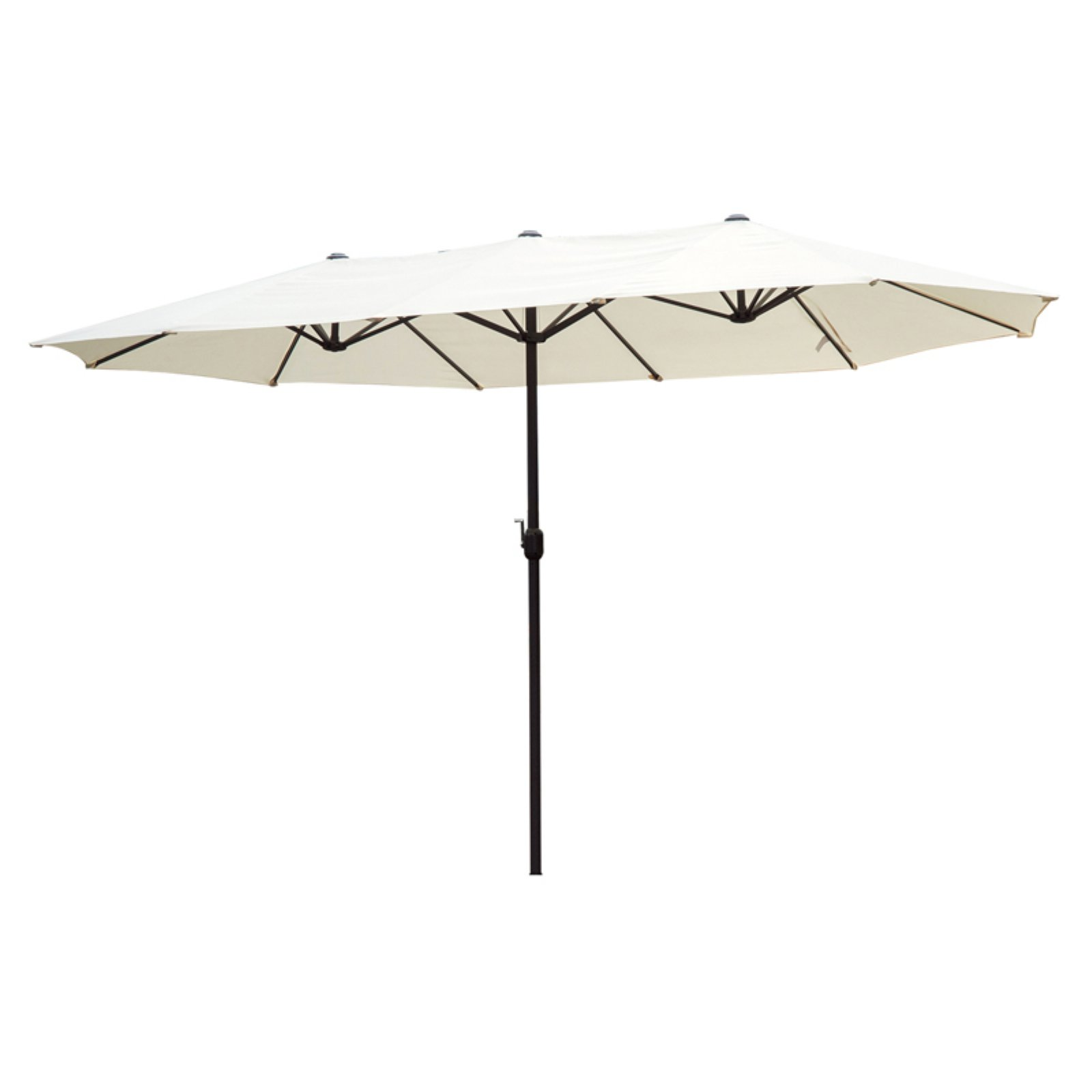 Outsunny 15 ft. Steel Double Sided Patio Umbrella by Aosom LLC