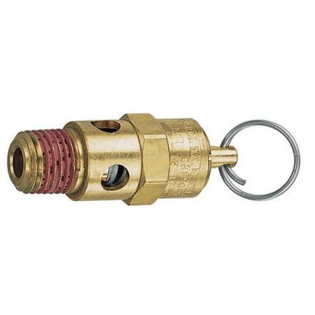 21707 125 PSI 0.25 Male NPT Safety Valve - image 1 de 1