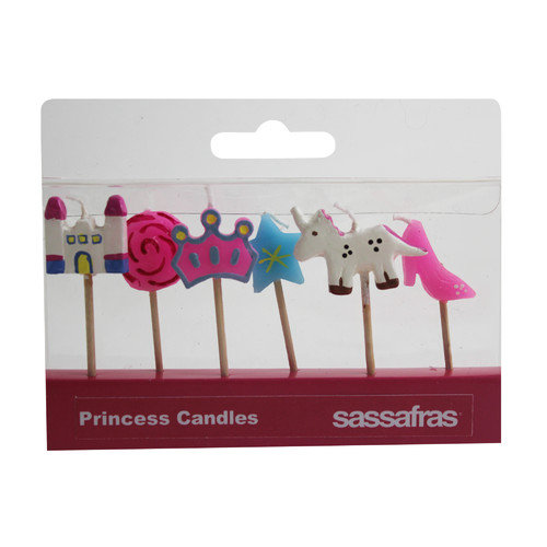 Sassafras Princess Party Candle (Set of 2)