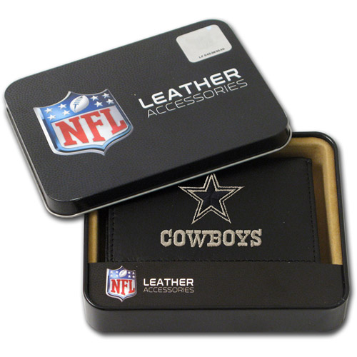 NFL - Men's Dallas Cowboys Embroidered Trifold Wallet