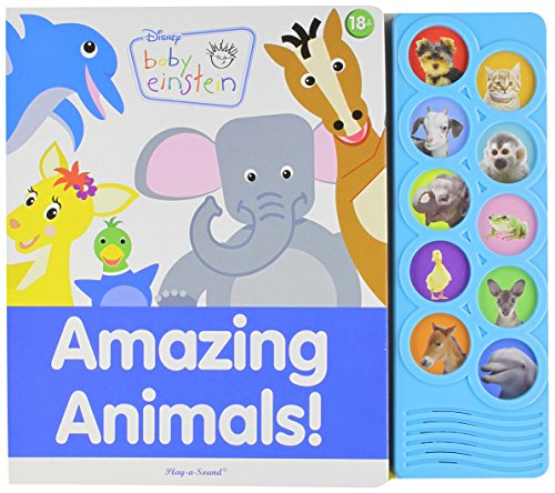 Amazing Animals: Play-A-Sound (Disney Baby Einstein) by