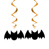 "26"" Hanging Bat Halloween Decorations, 3ct"