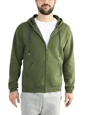 983d1112b Product Image Fruit of the Loom Big Men's Dual Defense EverSoft Fleece Full  Zip Hooded Sweatshirt