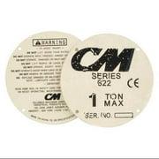 COLUMBUS MCKINNON CORP. CM 22604 Label Set