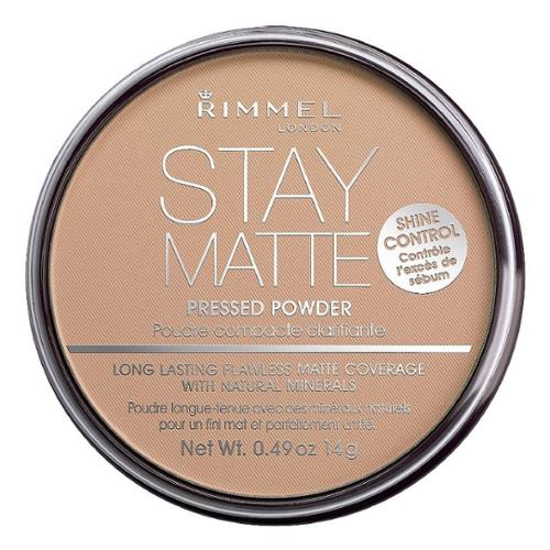 Rimmel London Stay Matte Long Lasting Pressed Powder, Silky Beige 0.49 oz (Pack of 6)