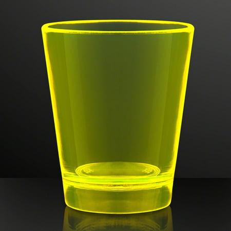Glow In The Dark Shot Glass Yellow by Blinkee](Yellow Shots)