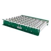 ASHLAND CONVEYOR BTIT100204 Ball Transfer Table,24In L,10BF