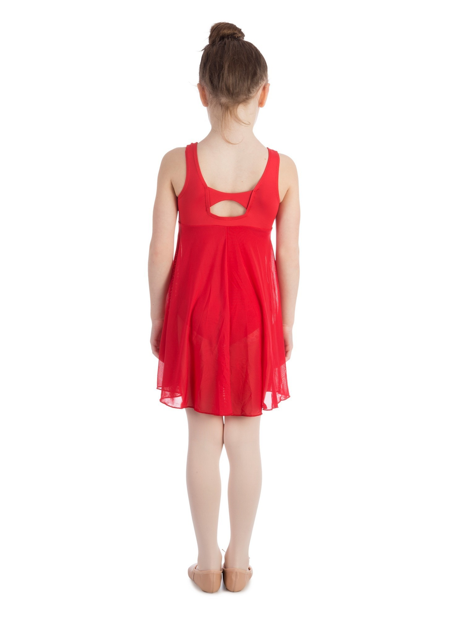Multiple Colors Elowel Kids Girls Empire Leotard Dress / Size 2-14 Years