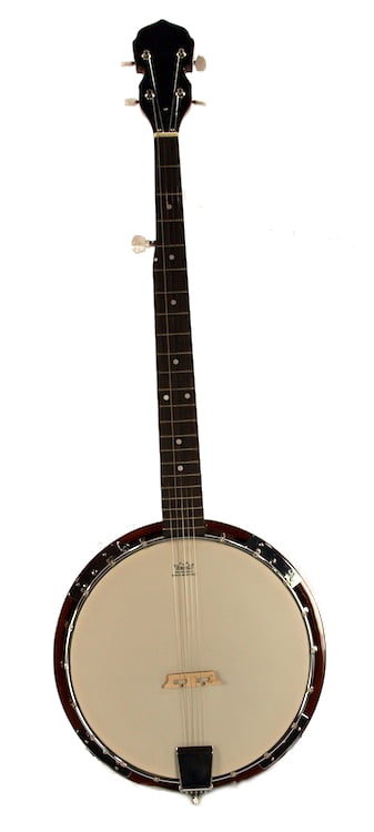 "5-String BANJO REMO Head 38"" TRADITIONAL BLUEGRASS Solid Sepele Wood by"