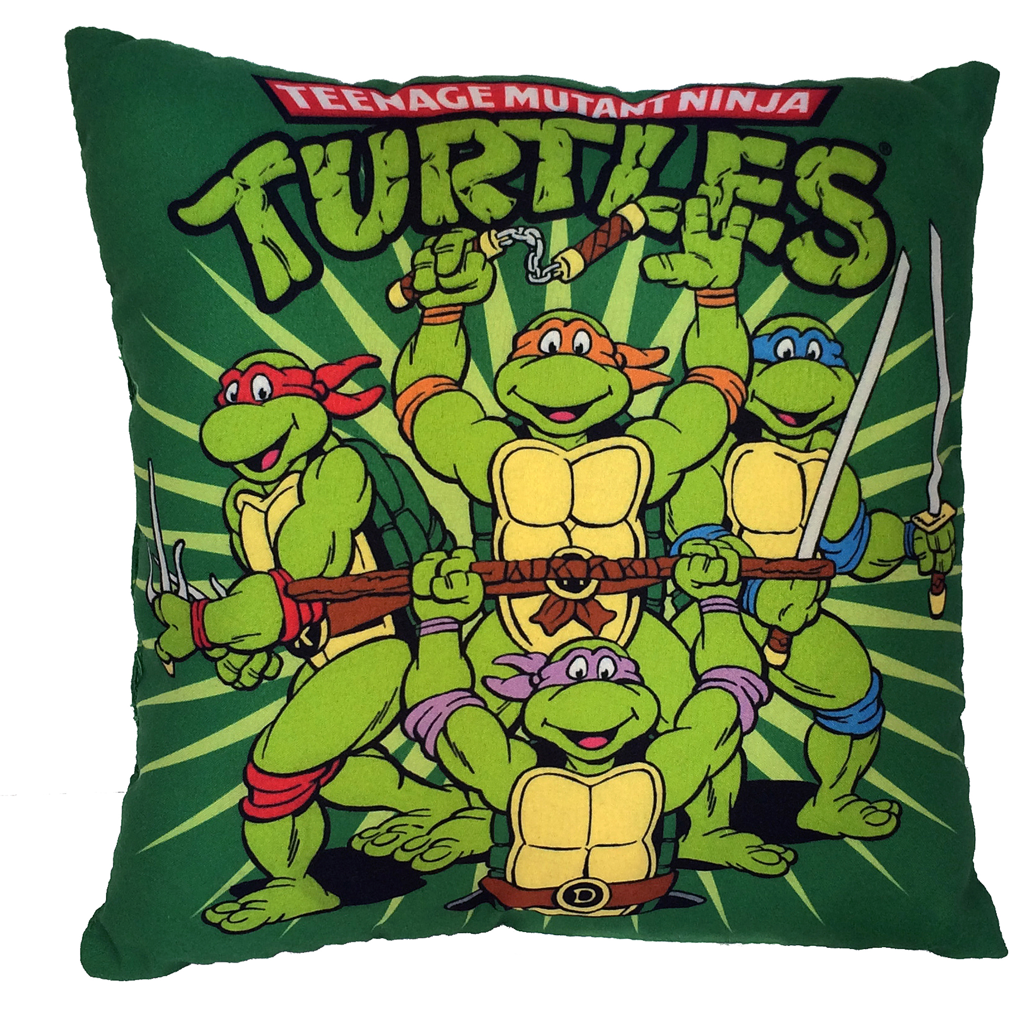 TMNT Teenage Mutant Ninja Turtles Decorative Pillow