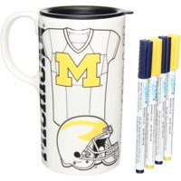 Michigan Wolverines Just Add Color Tall Boy Mug