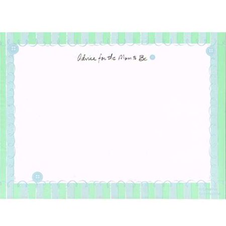 Baby Shower Advice Cards - Baby Advice Cards