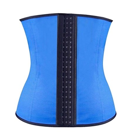 Latex Waist Training Underbust Corset Body Shapers Tummy Control Slimming Belt For Women