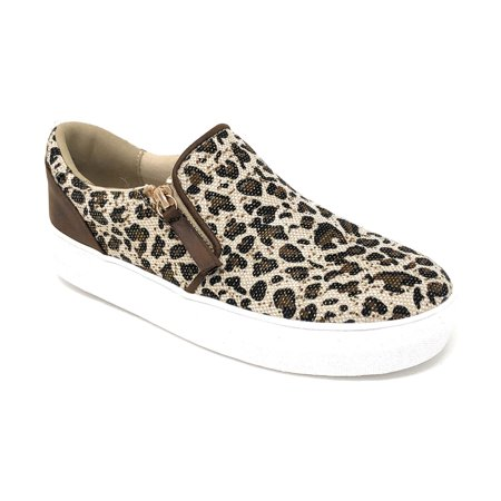 Not Rated Women's Timbre Leopard Fashion Sneakers