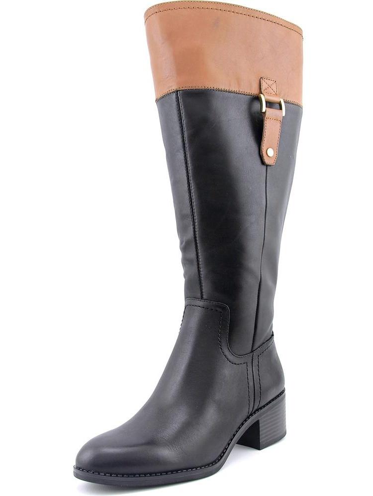 Franco Sarto Lizbeth Wide Calf Women Round Toe Boots by Franco Sarto