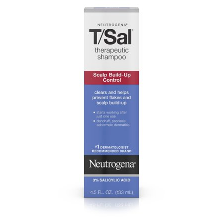 Neutrogena T/Sal Therapeutic Shampoo with Salicylic Acid, 4.5 fl. oz