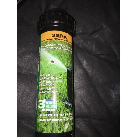 new unused genuine rain bird professional grade rotor sprinkler head 32sa