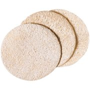 Loofah Face Discs 3 per Pack Earth Therapeutics 1 Pack
