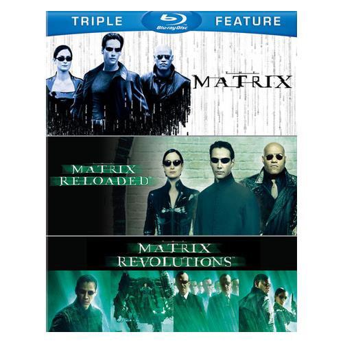 The Matrix / Matrix Reloaded / Matrix Revolutions (Blu-ray)