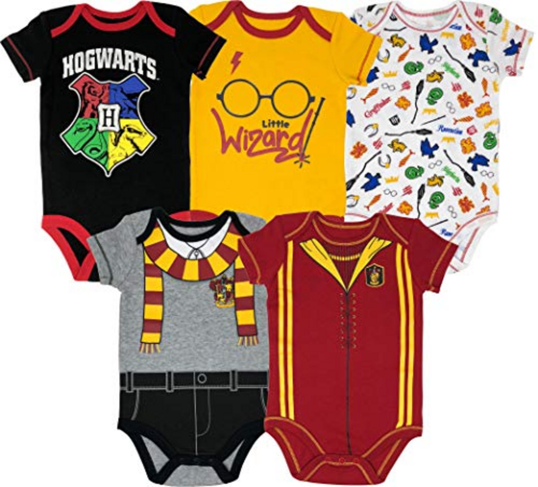 Little Wizard Funny Shirt Cool Gift Hogwart Gift Gerber Onesies