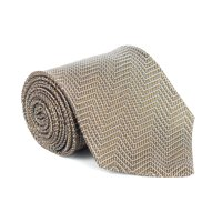 9c71ba487f Product Image Tom Ford Mens Gold Silk Blend Woven Zig Zag 4 Inch Wide Neck  Tie