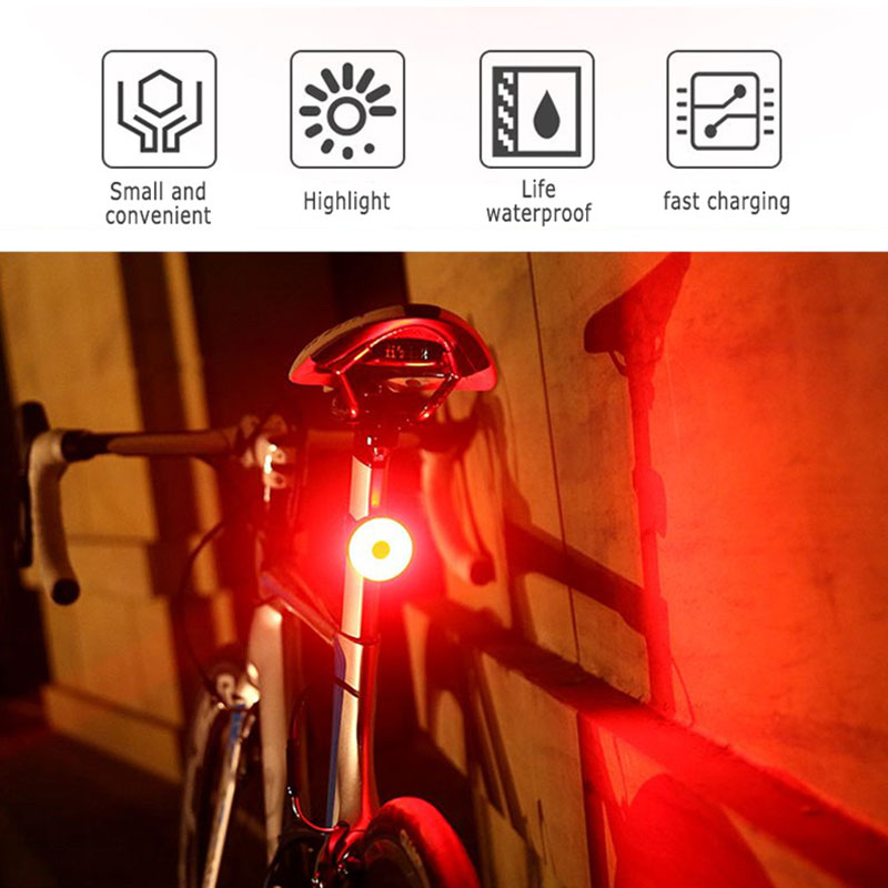 Details about  /Bike Tail Light Ultra Bright USB Rechargeable Bicycle Led Accessories Cycling
