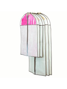 Moth Free Clothes Protector Garment Bags - 6pc