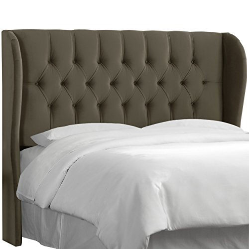 Tufted Wingback Headboard, Multiple Sizes and Colors