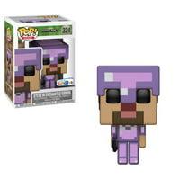 FunKo Pop! Minecraft Exclusive Steve in Enchanted Armor Figure