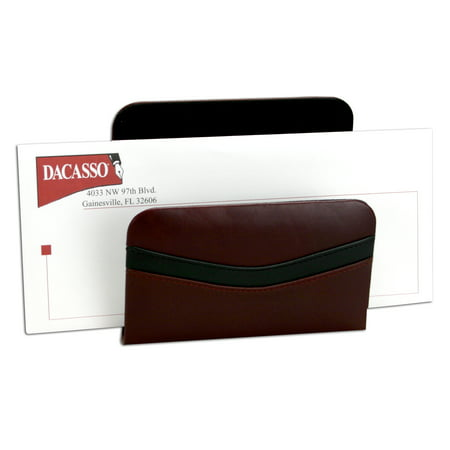 Taiwan - TWo-Tone Leather Letter Holder
