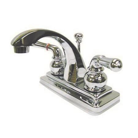 Kingston Brass KS4641NML deux manettes 4. Robinet de lavabo Centerset avec Brass Pop-up - image 2 de 2