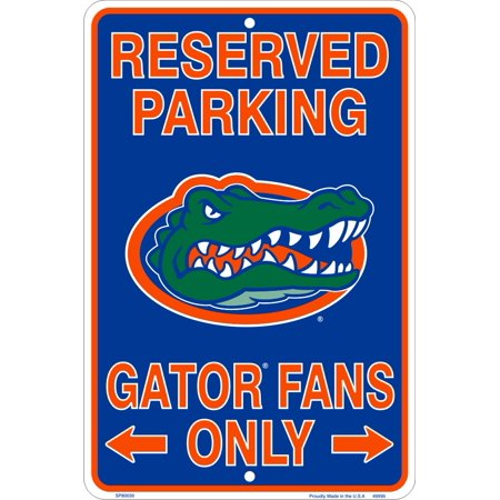 Fan Parking Sign - Gator Fans Parking Only Sign
