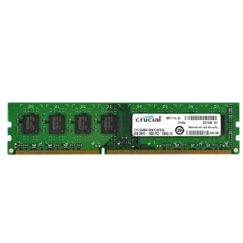 Crucial NA4271M 4 GB Single DDR3 CL11 Unbuffered UDIMM 240-Pin Desktop Memory